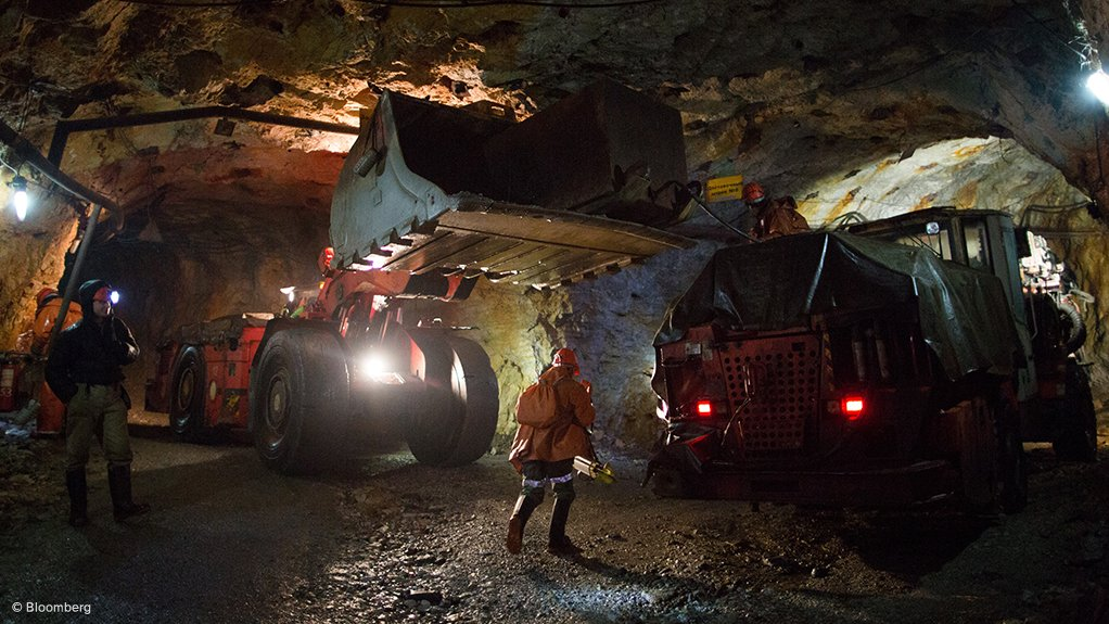 PIPE DREAM The deeper South Africa mines' thin tabular orebody ensures that the mechanised mining methods used in many other countries are not an option