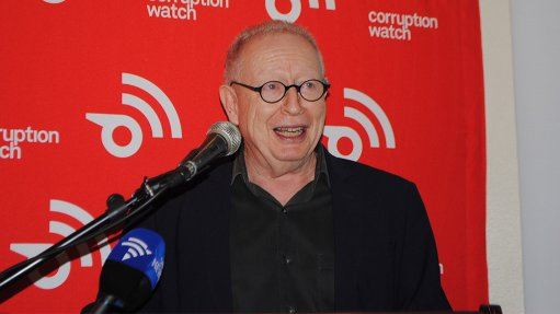 Corruption Watch director David Lewis