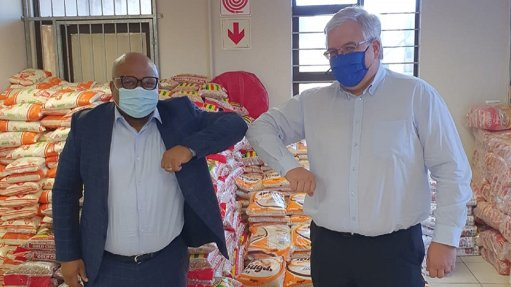 RBM makes R1.5m Covid food, water pledge