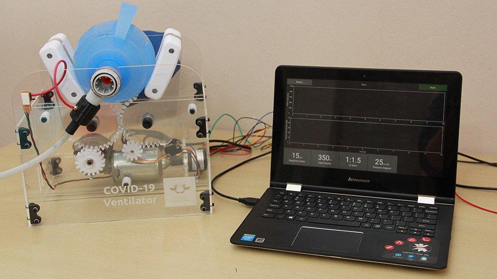 UJ creates open-source, low-cost ventilators