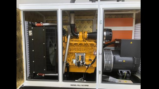 New division rolls out diesel generators
