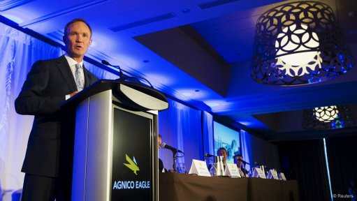 Agnico Eagle issues new 2020 production, capex guidance