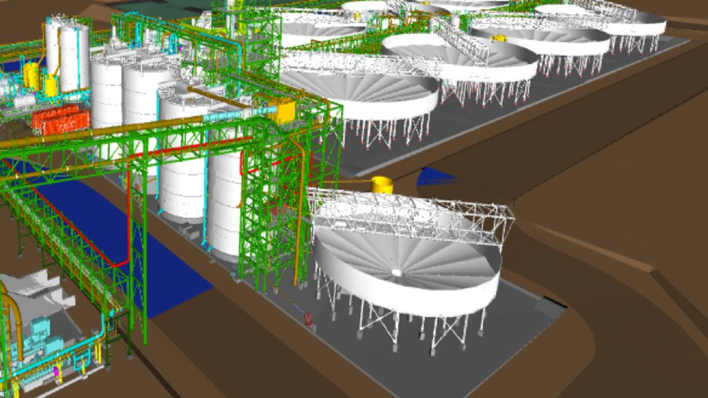 Photo-METC's Current Project in Niger-3D modular plant layout