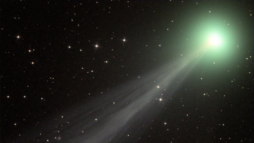 South African astronomer captures images of recently discovered comet