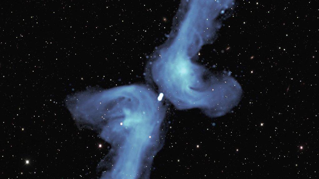 MeerKAT image of the galaxy PKS 2014-55