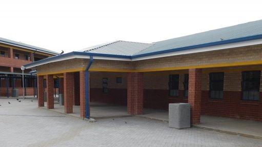 Brick supplier completes Gauteng school project