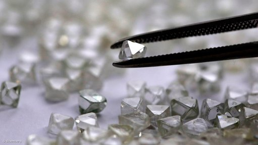 Alrosa's April sales virtually stopped