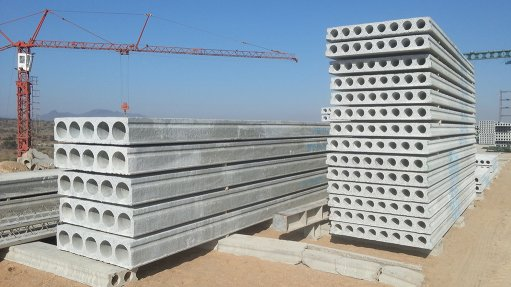 Precast-concrete manufacturing complements construction sector