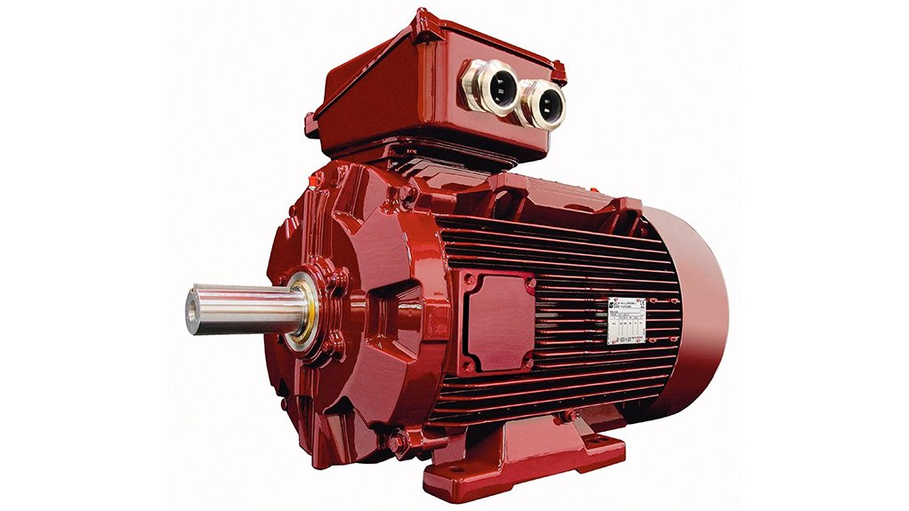 HIGH EFFICIENCY  The Dyneo motor-drive unit ensures high efficiency levels over the whole operating speed range, especially at speeds below the synchronous speed