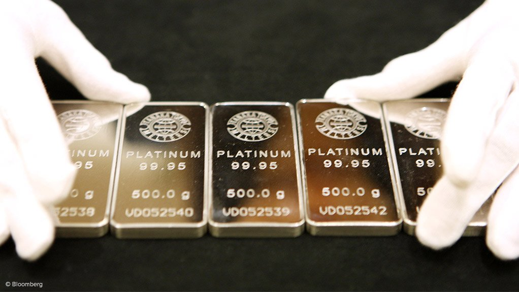 Surging demand for platinum bar and coin.