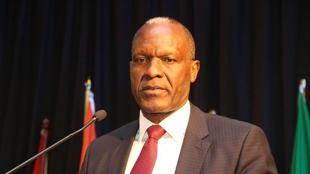 Namibia Mines and Energy Minister Tom Alweendo