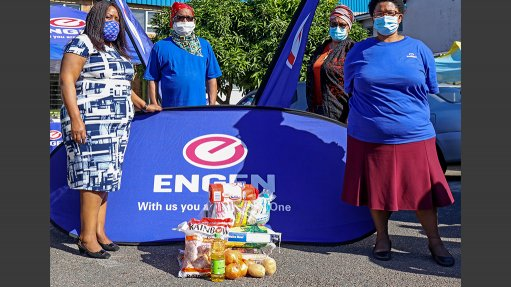 Engen helps bring food relief to South Durban community