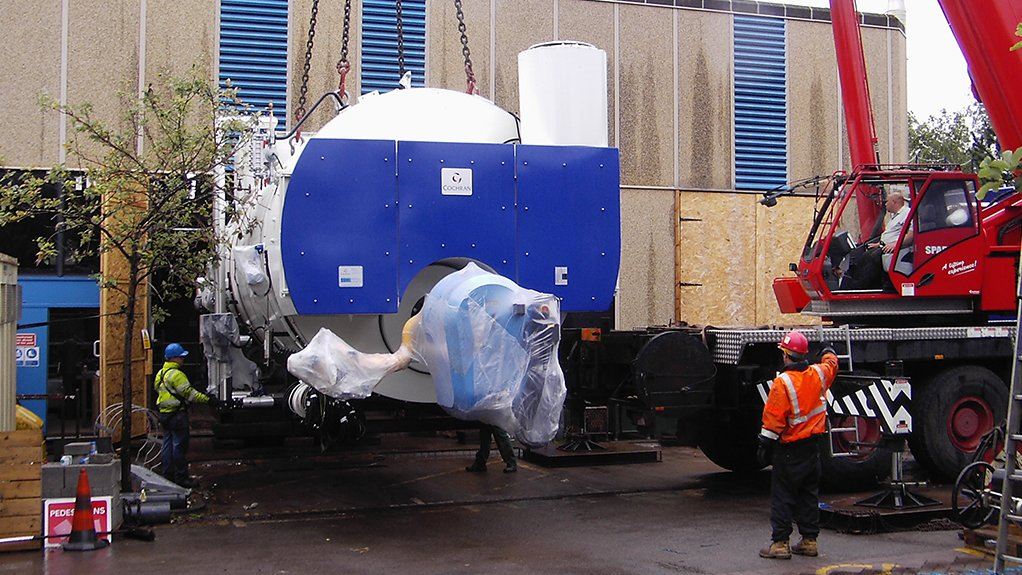 BIG AND BOLD Boilers account for up to 30% of process plant energy requirements