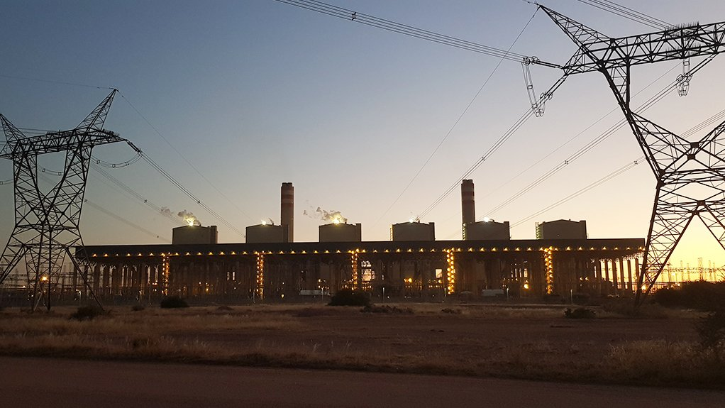 The Medupi power station project