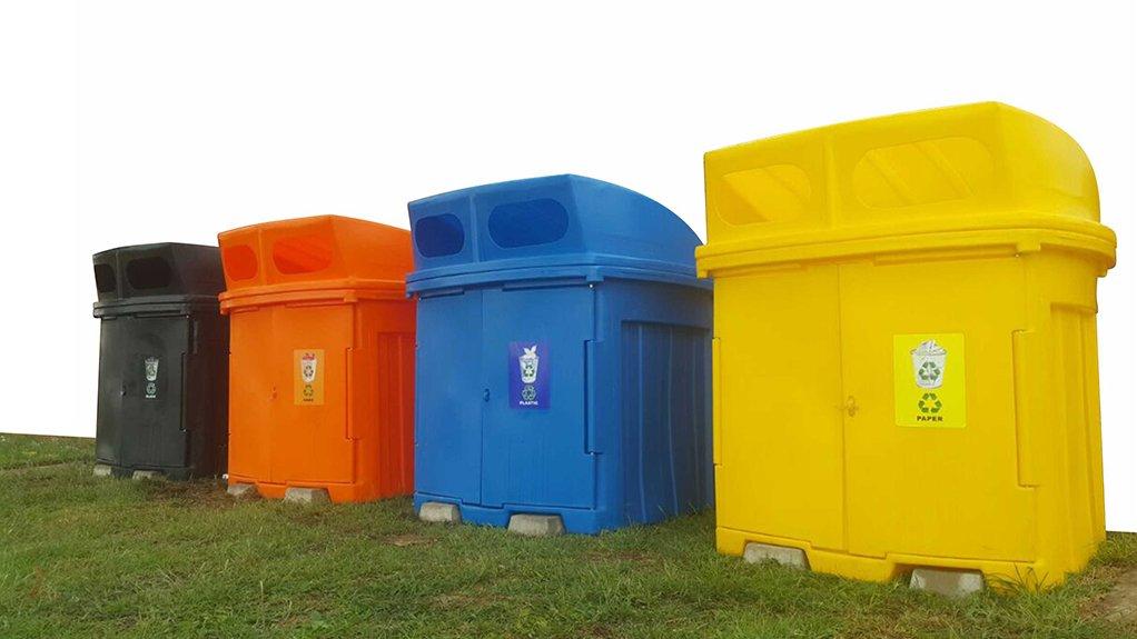 1000 litre recycle bin