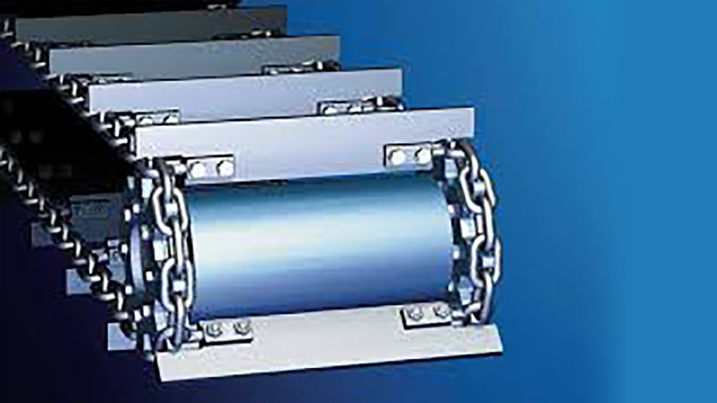 A SOLID LINK  HEKO chain systems with attachments can be supplied pre-assembled with the chain as endless round strands eliminating the need for on-site assembly