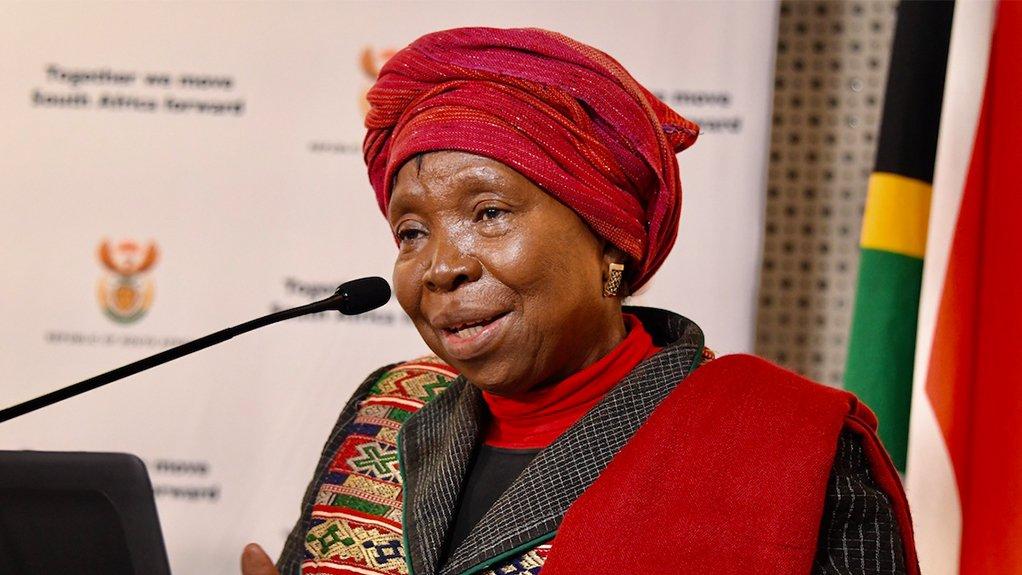 Cogta Minister Nkosazana Dlamini-Zuma