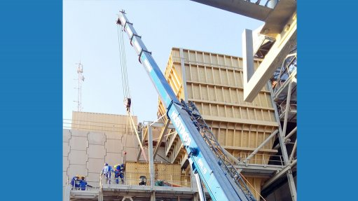 Custom-designed chutes installed in mines across Africa