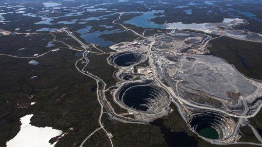 The Ekati mine, in Northwest Territories.