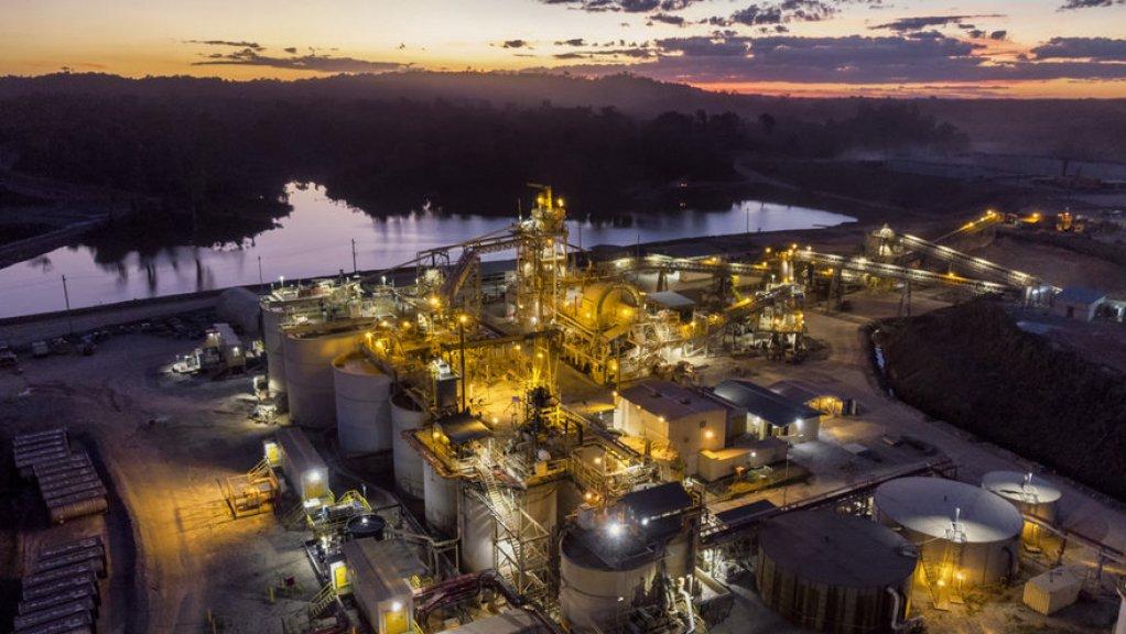Guyana Goldfields' Aurora mill.