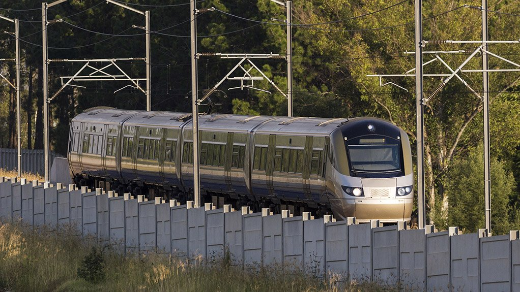 STAYING ON TRACK The Gautrain has continued to operate at full capacity despite experiencing a significant reduction in paying customers during lockdown