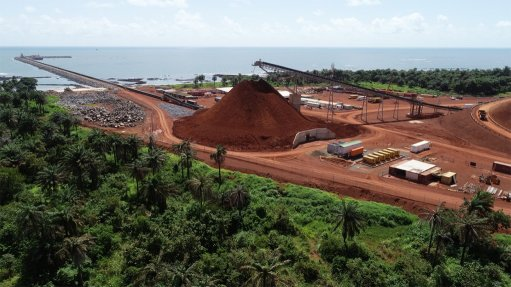 GUINEA-FOCUSED Madini is focused on Guinea, where it has been involved from first drill hole through to production at Alufer Mining's Bel Air Mining bauxite project