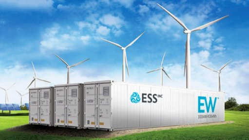 Clean energy storage for mines
