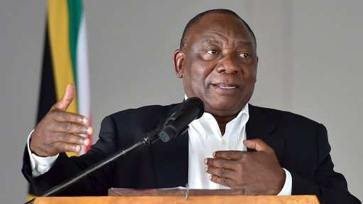 Ramaphosa to host inaugural Sustainable Infrastructure Development Symposium