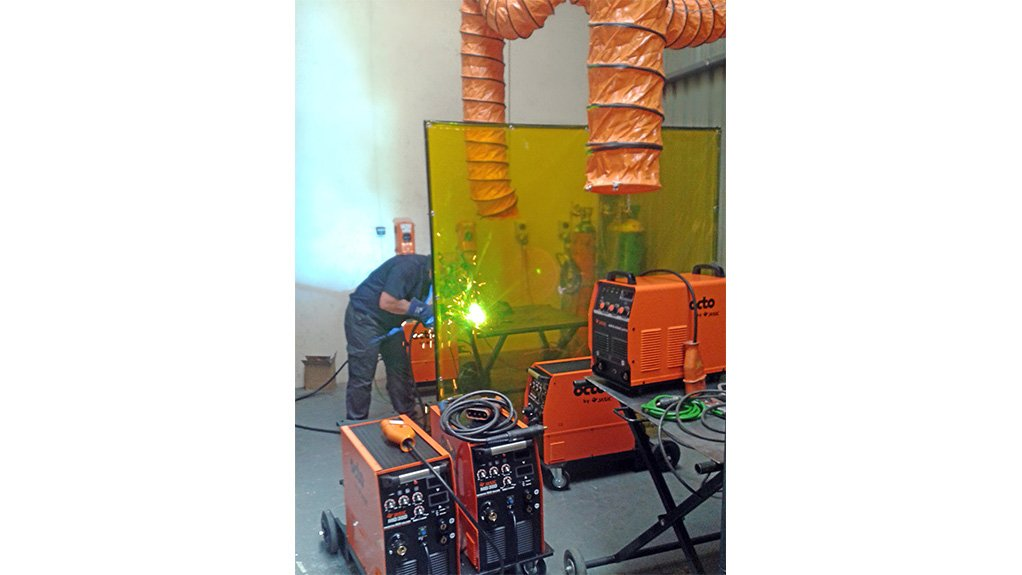 OVER-PROTECTIVE  INDUSTRI Tools & Equipment's locally manufactured welding safety curtain and screen products are used in conjunction with other protective measures