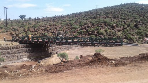 DPWI, partners complete bridge to connect communities in Eastern Cape