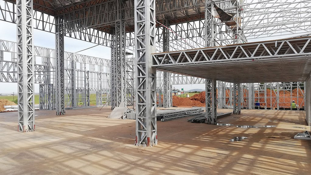 NO LIGHT MATTER Light steel frame building can have more engineering challenges than meets the eye, especially when larger, more complicated projects are considered