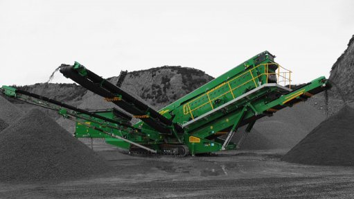 Mobile screening plant proves highly efficient