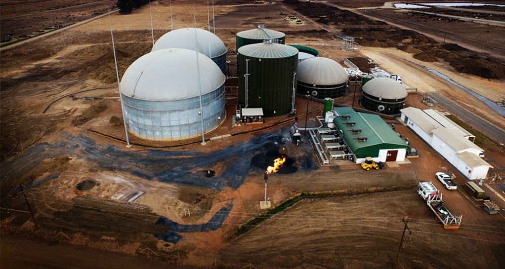 GOING GAS Investment in the local biogas industry can see a decrease in greenhouse-gas emissions of up to 15 % over the next 10 years
