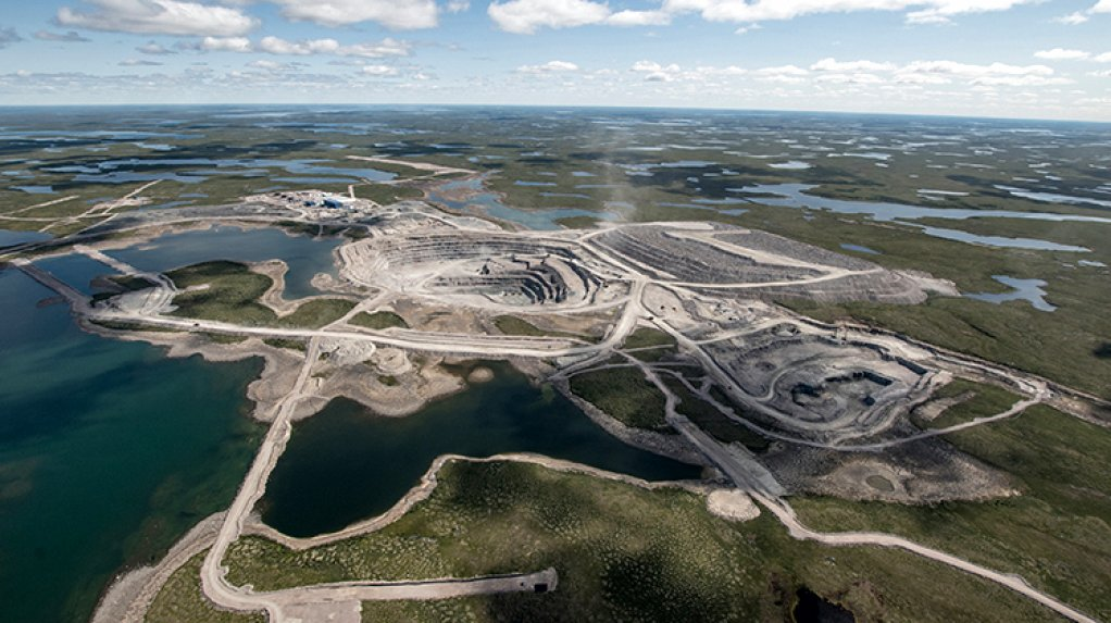 The Gahcho Kue mine, in Canada.
