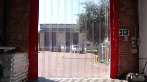 Enhance workplace safety with strip curtains