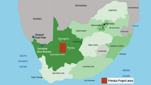 Tembo extends loan for Prieska copper/zinc project in Northern Cape