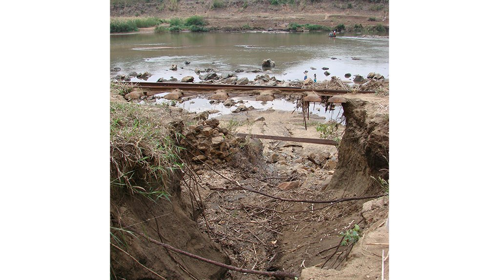 HUMAN IMPACT The flooding and damaged railway infrastructure had profound negative socioeconomic impacts on an already impoverished area of the country