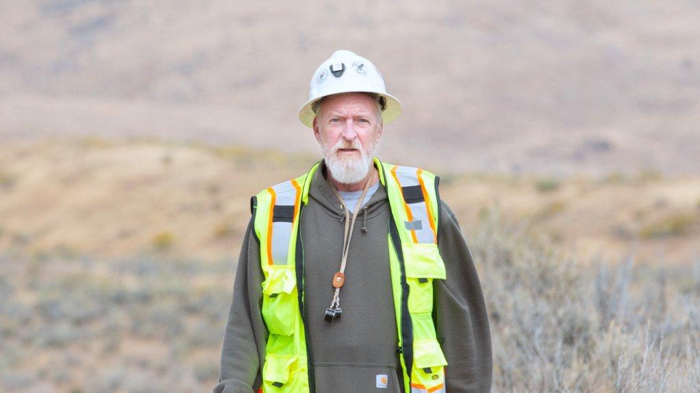American Pacific Mining president Eric Saderholm