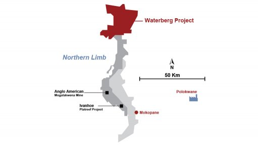 Implats reiterates support for Waterberg project as 15% shareholder