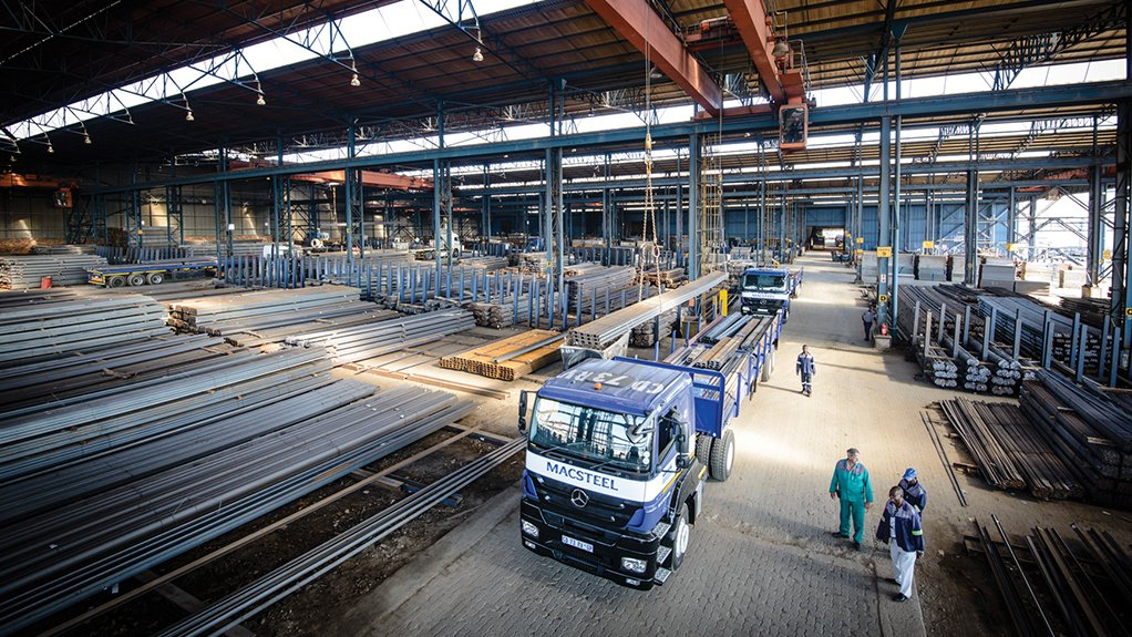 BUILDING THE RIGHT WAY Macsteel aims to build its market share through strong, well-established and sustainable relationships with customers