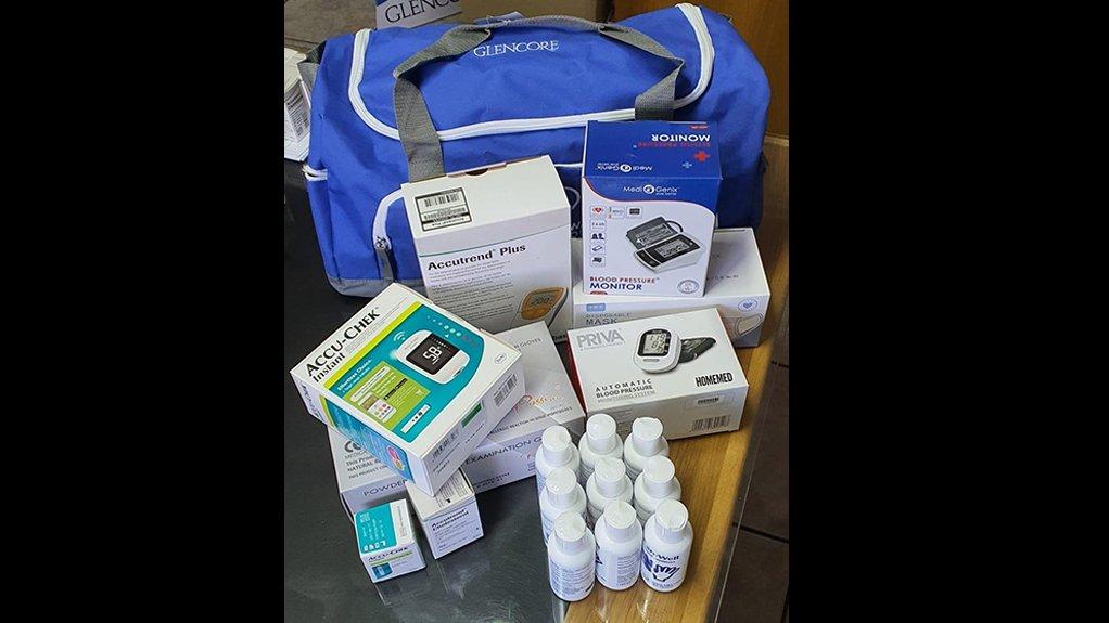 Glencore donates essential medical supplies to local clinics