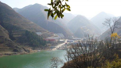 SGX mine, China
