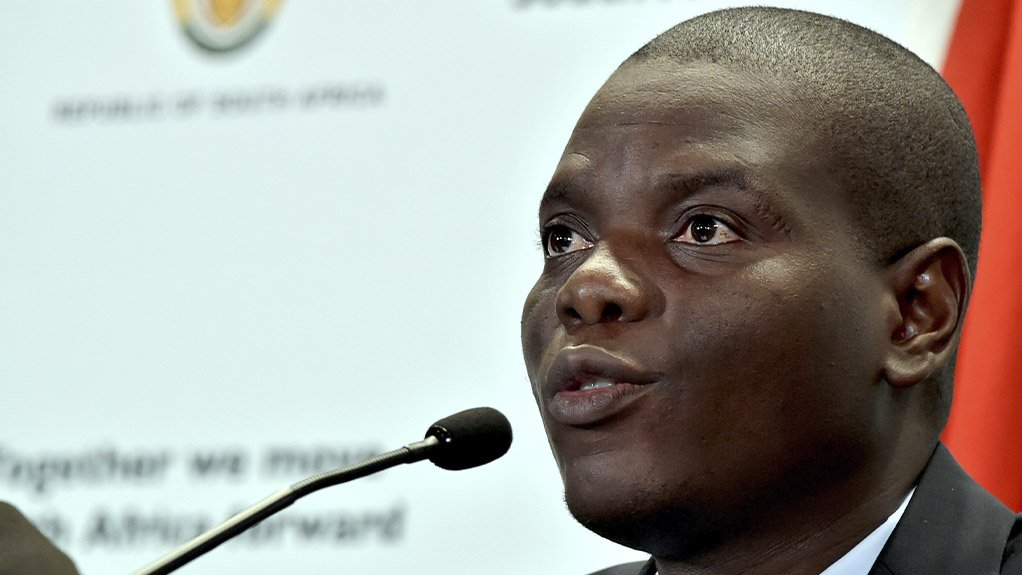 Justice and Correctional Services Minister Ronald Lamola