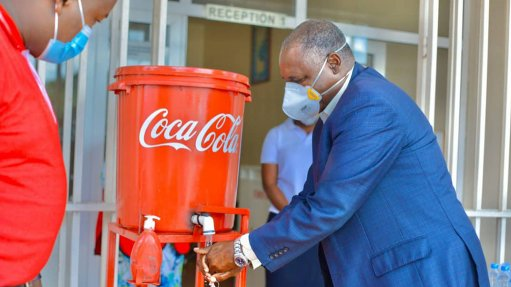 Coca-Cola supports Africa during pandemic