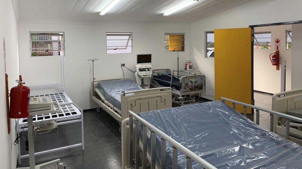 Safepod commissions demo unit to showcase Covid-19 medical facility