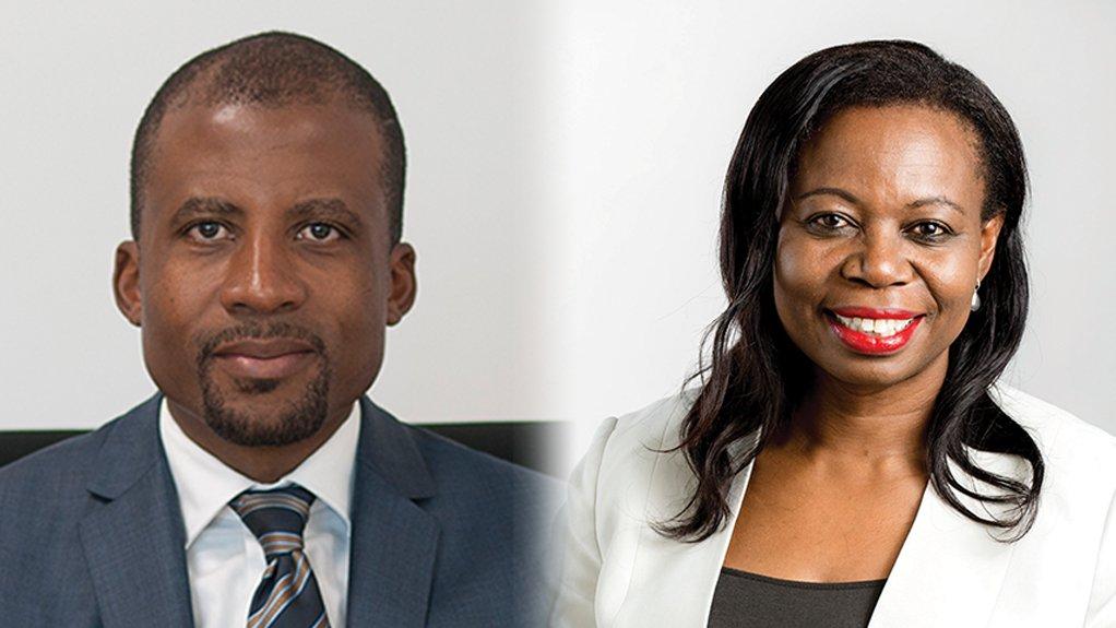 Fortune Mojapelo and Tanya Chikanza