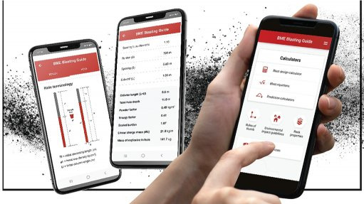 BME's new Blasting Guide app makes the job easier for blasters