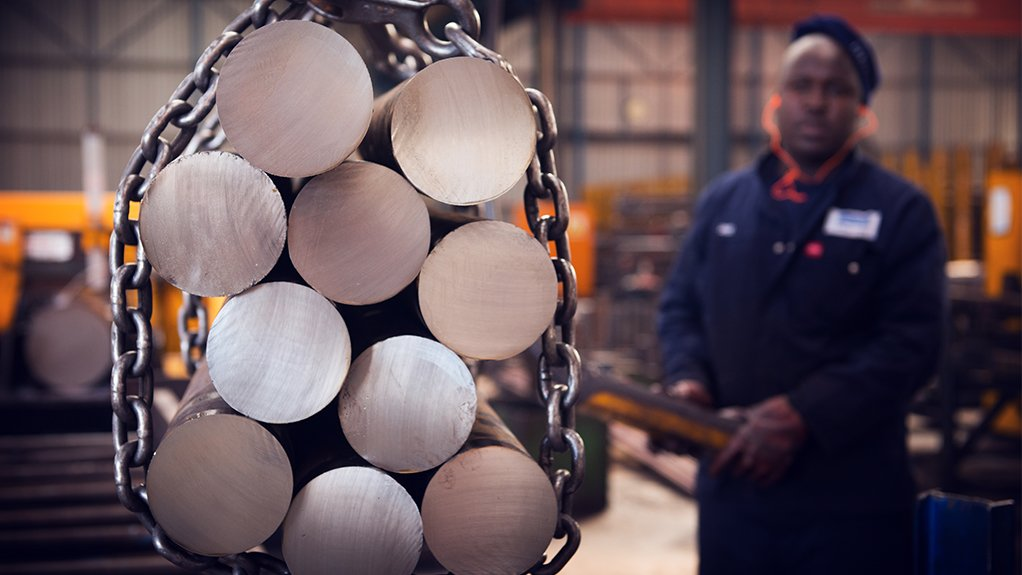 RAISING THE BAR  Macsteel is focused on ensuring that the market is running efficiently and that there is constant supply