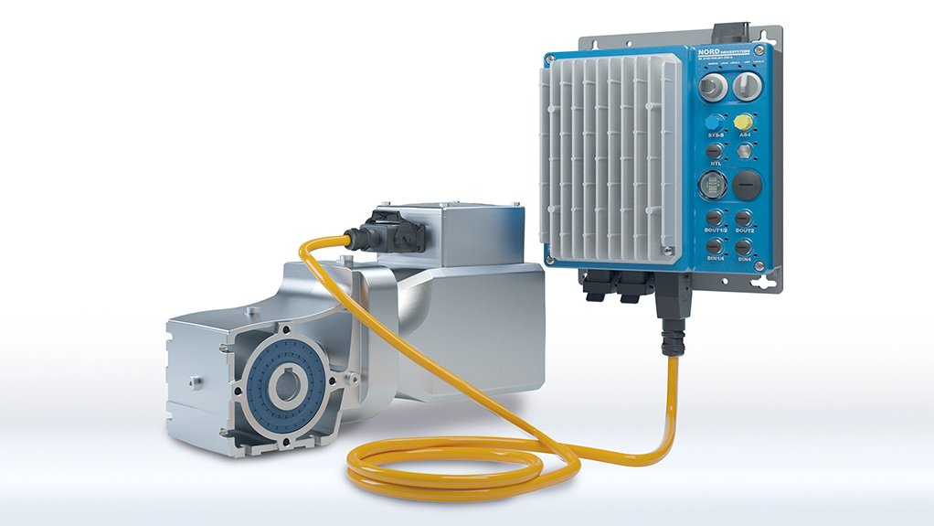 OPTIMUM DRIVE CONFIGURATIONS  Nord IE5+ synchronous motors can be combined with all Nord gear units and drive electronics as a modular system to enhance LogiDrive systems