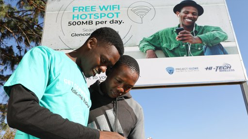 Mpumalanga residents to receive more Glencore free WiFi